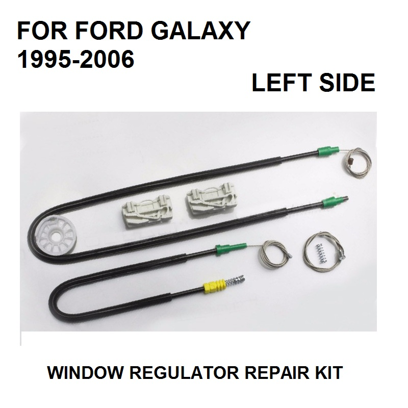 CAR PARTS FOR FORD GALAXY WINDOW REGULATOR REPAIR KIT 4/5 - DOOR FRONT LEFT 1995 To 2006 NEW