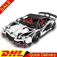 In Stock LP 23006 2838pcs Technic Hatchback Type R Sportscar Racing Car Building Block Brick legaoings Toy
