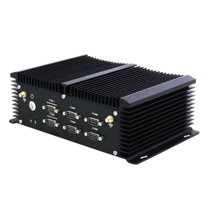 Image 4 - Sem ventilador intel core i5 4200u mini pc 6 * rs232/422/485 4 * usb 3.0 4 * usb2.0 2 * lan hdmi vga wifi 4g lte industrial incorporado computador