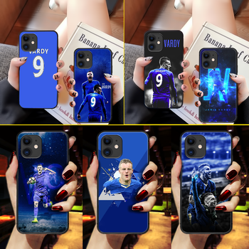 Jamie Vardy soccer Phone Case Cover Hull For iphone 5 5s se 2 6 6s 7 8 11 12 mini plus X XS XR PRO MAX black cover soft hoesjes image