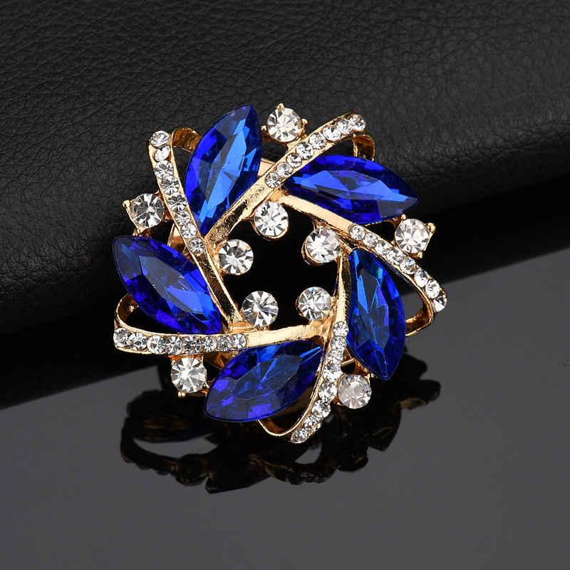 Новый роскошный модный большой кристалл цинковый сплав, стразы 2 цвета гирлянда шарф, ремешок, двойной использование одежды женские аксессуары