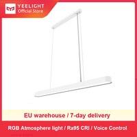 YEELIGHT умный современный подвесной потолочный светильник светодиодный светильник для внутреннего освещения с регулируемой яркостью Ra95 1800lm ...