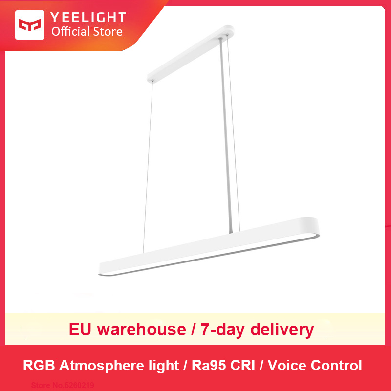 YEELIGHT الذكية الحديثة قلادة مصابيح السقف LED إضاءة داخلية عكس الضوء ضوء Ra95 1800lm App التحكم للمطبخ غرفة الطعام