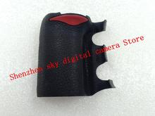 96%New Original Front Main Grip Rubber Unit With Original Double sided Tape Repair Part For Nikon D200 Camera