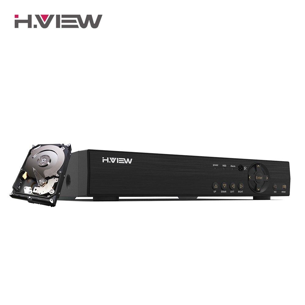 Видеорегистратор H. VIEW AHD DVR, 8 каналов, 4 канала, ТБ, HDD, AHD DVR, 8 каналов, 4 канала, камера видеонаблюдения для аналоговой TVI CVI IP камеры