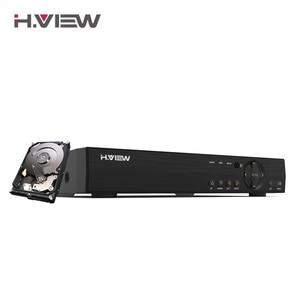 Image 1 - H.VIEW AHD DVR 8ch 4ch Recorder Surveillance 1TB HDD AHD DVR 8ch 4ch Recorder Surveillance for Analog TVI CVI IP Camera