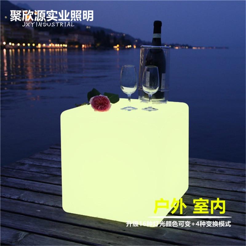 Moban JXY003 LED FURNITURE CUBE Cube Bar Chair Lamp 40CM*40CM*40CM
