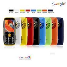 3G WCDMA  Large Display Keyboard Torch Loud Speaker Feature Mobile Phone Super Long Standby Whatsapp Elder People