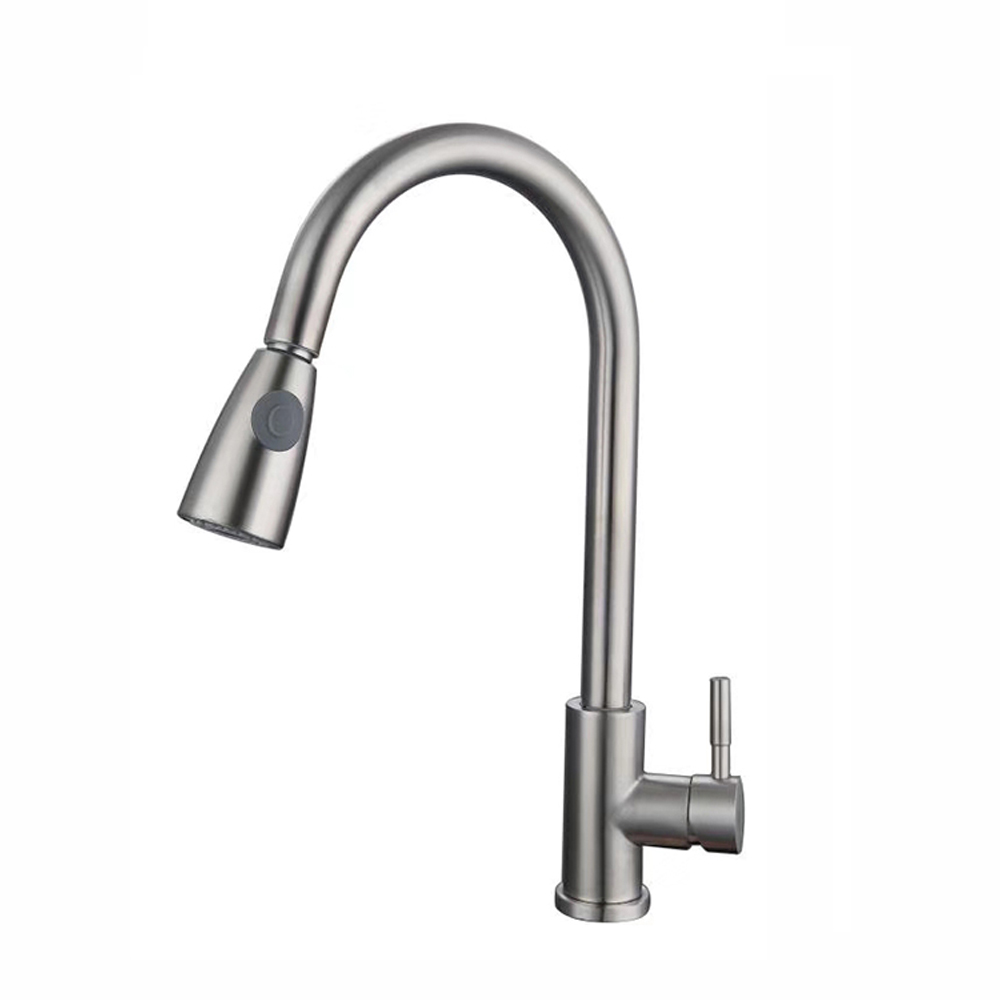 Wholesale Torneiras Griferia Robinets Brass Kitchen Faucet Water Taps Mixer Sink Kitchen Taps Pull Out Down Home Improvement