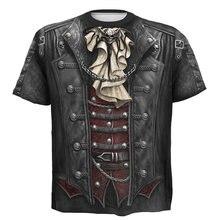 Мужская 3d футболка одежда уличная футболки цельные мужские