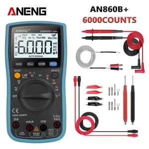 ANENG AN860B+ Tester Digital Multimeter Profesional 6000 Counts Detector Tester Peak Multimetro Meter analogico esr Lcr meter(China)