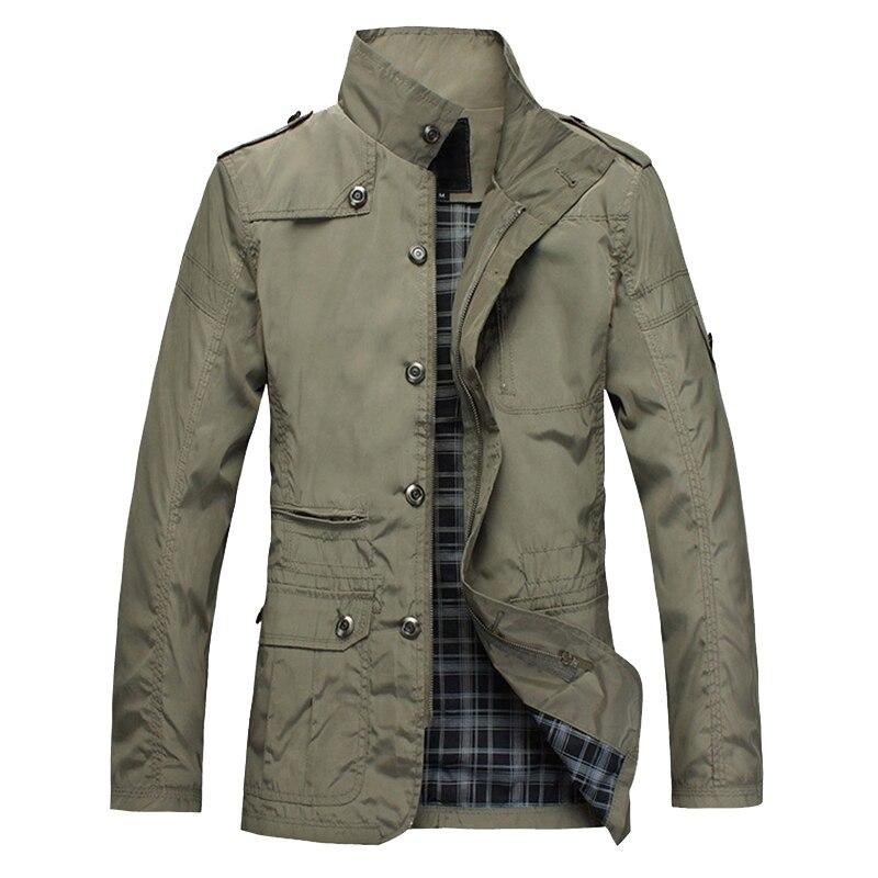2020 мужские тонкие куртки, хит продаж, повседневная одежда из полиэстера, Корейская удобная ветровка, весна-осень, Мужское пальто, Тренч разм...