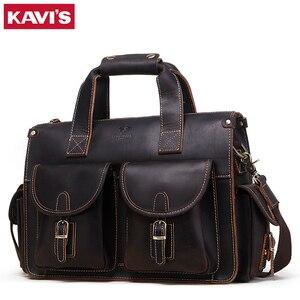 Сумка для путешествий от известного бренда в стиле ретро, темно-кофейная большая сумка из натуральной кожи Crazy Horse, мужская деловая сумка на ...