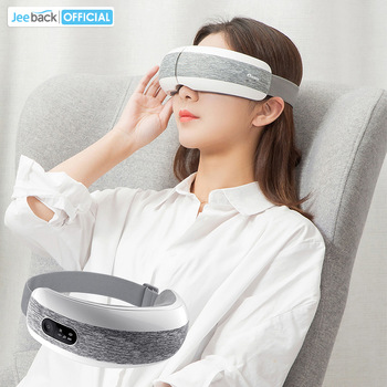 Jeeback XGEEK Eye Massager E6 Eye Mask Music Magnetic Air Pressure Bluetooth Heating Vibration Massage Relax Glasses Xmas Gift