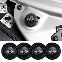 4Pcs Car Door Hood Trunk Sound Shockproof Buffer Stickers For Mini Cooper Countryman Paceman Clubman F54 F55 F56 F57 F60 R50 R52