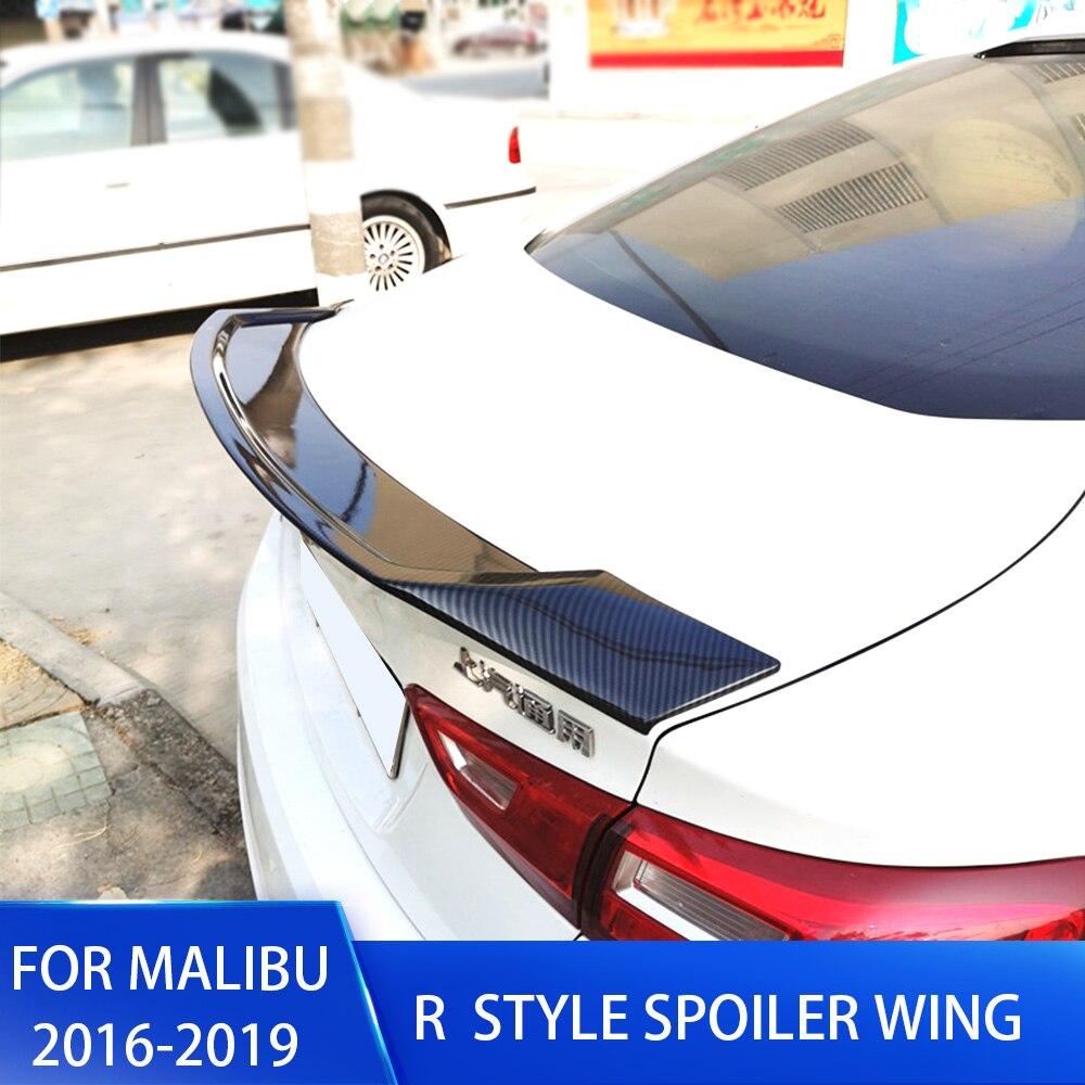 Carbon Fiber Rear Trunk Wing Lip Spoiler for For Chevrolet Malibu XL 2016-2018