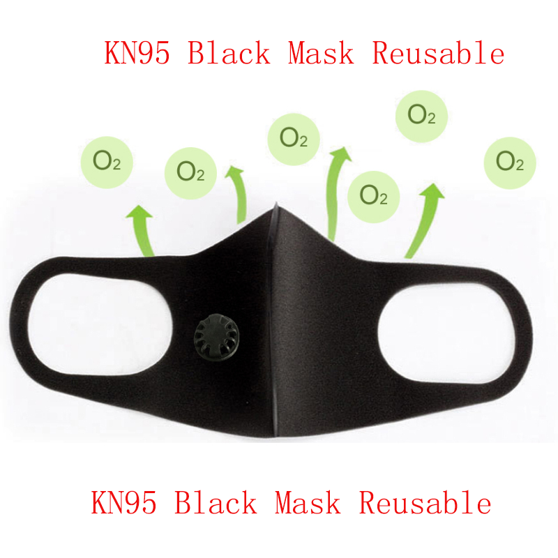 1/5/10/15/20pcs N95 5 Layers Mask Bacteria Proof Anti Infection FFP2 Masks Particulate Mouth Respirator Anti PM2.5 Breath Valve