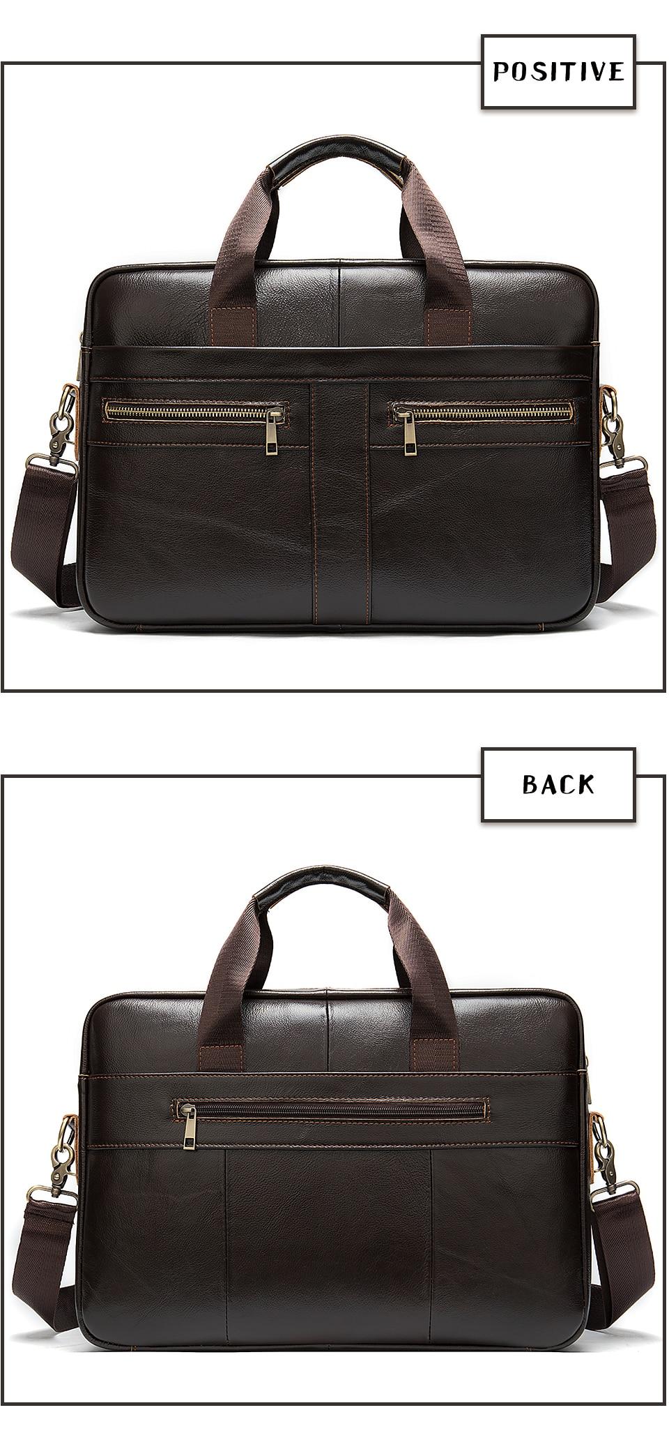 H3261d9adbc2b437288d68892143fe0853 WESTAL Bag men's Genuine Leather briefcase Male man laptop bag natural Leather for men Messenger bags men's briefcases 2019