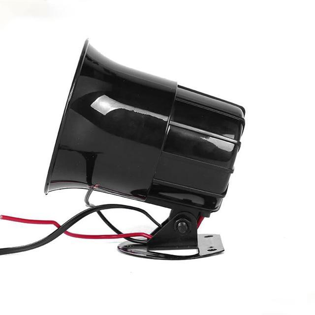 Głośnik samochodowy 110db 12V Allarme Auto Moto 3 Tone syrena głośnik klakson Sirene Policia Moto pogotowia Alarm samochodowy głośniki dźwięku