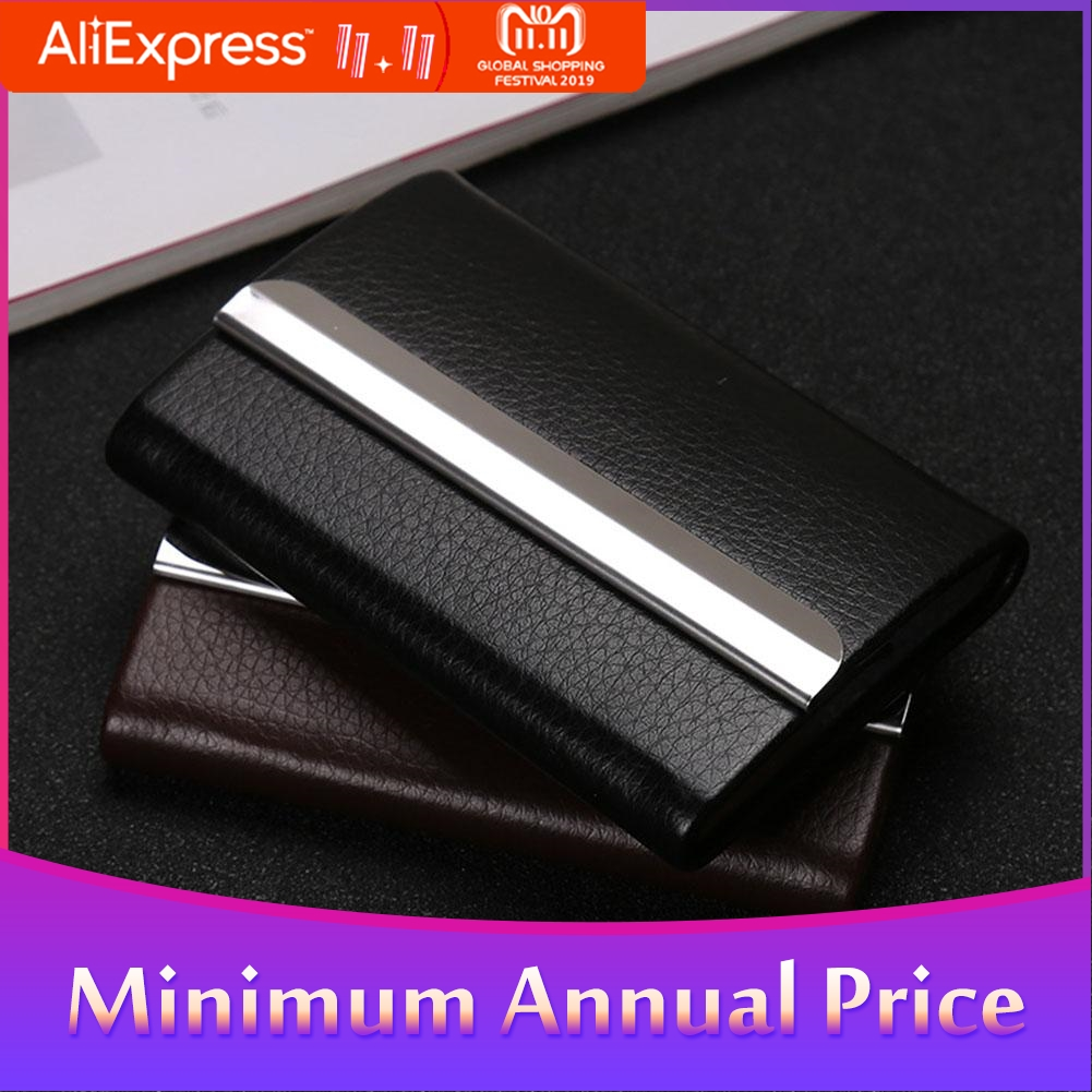 Capacity Card Holder For Men Women Business Card Credit Card Storage