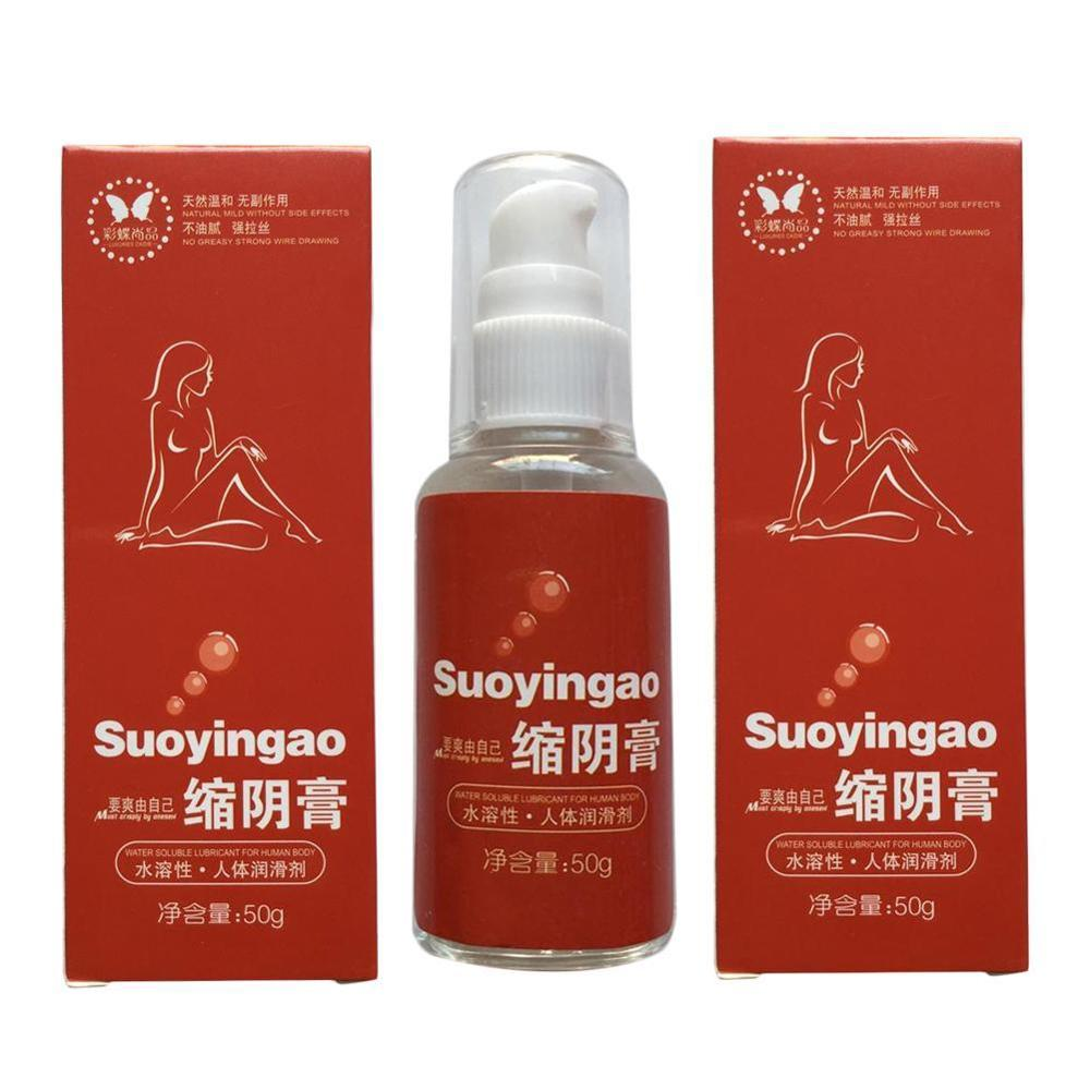 High Quality 50g Orgasm Narrowing Vagina Tightening Creams Gel Female Libido Enhancer Intimate Lubricant For Sex Exciter For Women