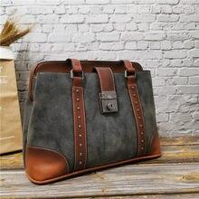 Women 2021 Top-Handle Bags High Quality Leather Single Shoulder Bag Famous Ladies Designer Handbags Travel Big Briefcase Purse