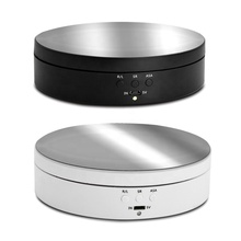 Display-Stand Turntable Watches Jewelry Intelligent-Rotating Max-Loading with Charge-Battery