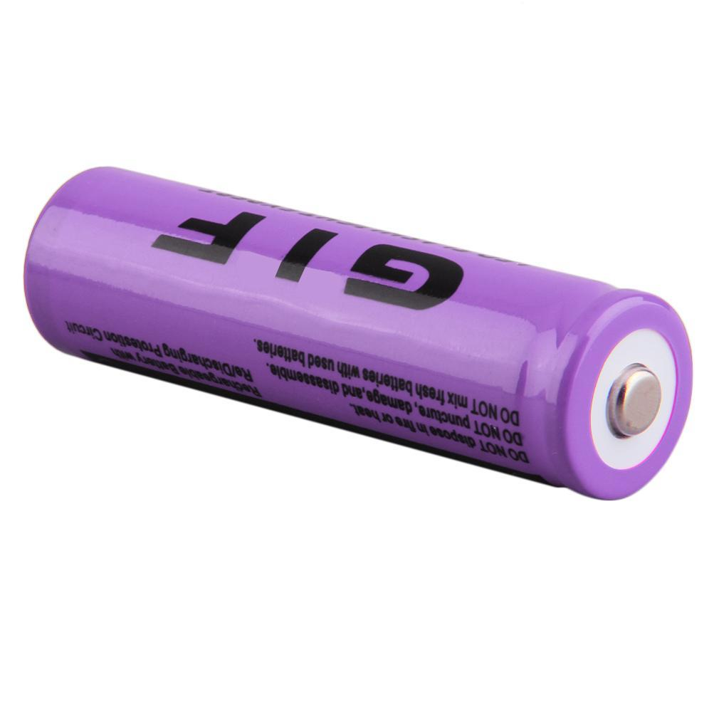 18650 3.7V 9800mAh Rechargeable Li-ion Battery For LED Torch Flashlight XJB