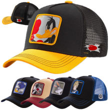2020 Hot Koop Cartoon Anime Eend Trucker Hoed Hoge Kwaliteit Patch Ontwerp Baseball Cap 58 Stijlen Cap Gorras Pet Dropshipping(China)