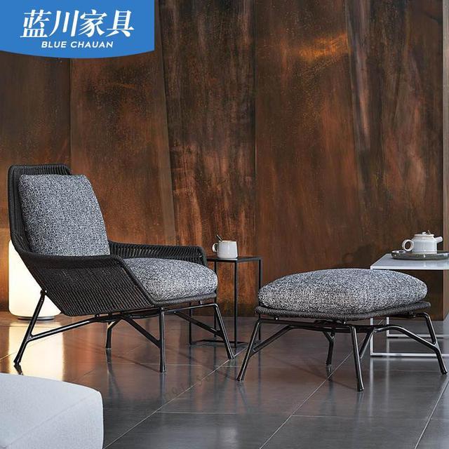 Outdoor Patio Leisure Rattan Chair 2