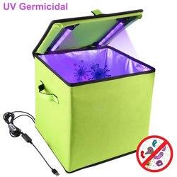 LED УФ Озон Дезинфекция коробка USB перезаряжаемая УФ одежда дезинфекция сумка для детской бутылки игрушки одежда Товары для малышей