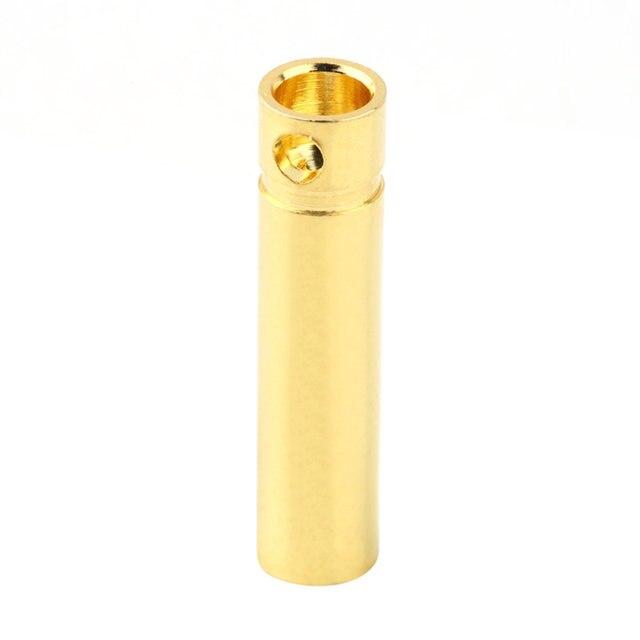 10 pcs 4.0mm Male&Femalel Banana gold Plug connectors For Battery ESC Motor