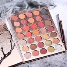 Charming Eyeshadow Pallete Beauty Glazed 35 Color Shadow Nude Makeup Pallete Maquiagem Profissional Completa Glitter