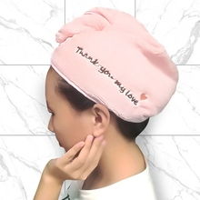 Утолщение волосы сушка полотенце шапка шапочка микрофибра быстросохнущая сушка тюрбан для ванны душа бассейна