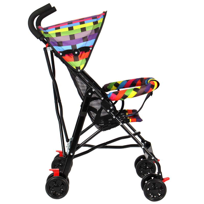Baby Stroller Can Sit Reclining Ultra Light Folding Simple Umbrella Summer Child Baby Child Stroller Summer