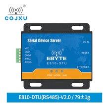 Full Duplex Seriële Poort Server Ethernet RJ45 Om RS485 Tcp Udp 100M E810 DTU(RS485) V2.0 Draadloze Transparante Transmissie Modem