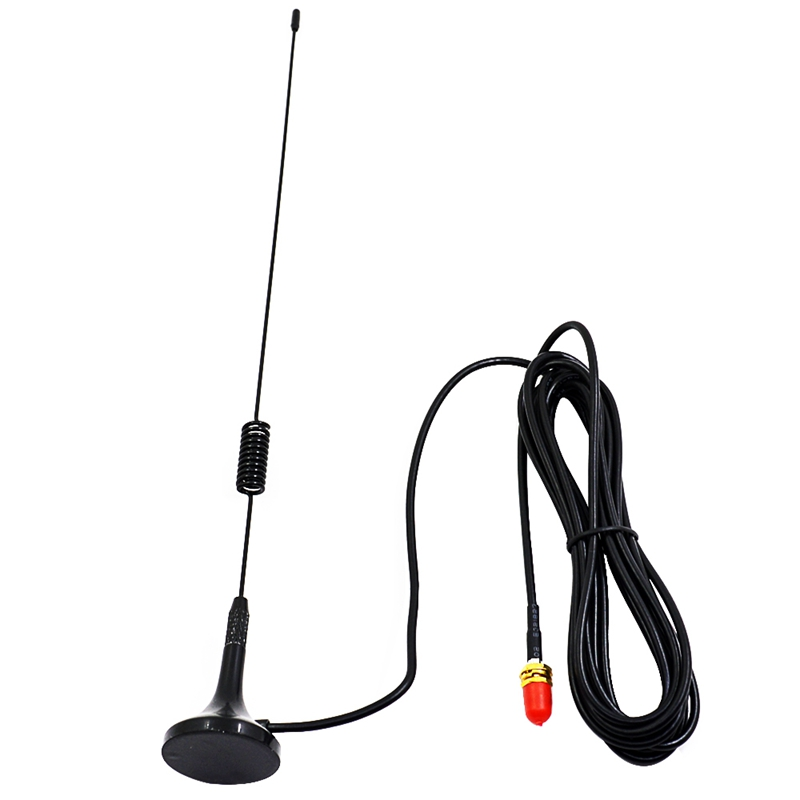 UT-106UV SMA-Female Car Magnetic Dual Band Antenna For Baofeng UV-5R UV-82 UV-9R Walkie Talkie