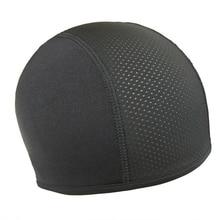 1 шт. мотоциклетный шлем с черепом, внутренняя Кепка Coolmax, быстросохнущая дышащая Кепка для гонок, Кепка Под шлем, шапка для мотокросса