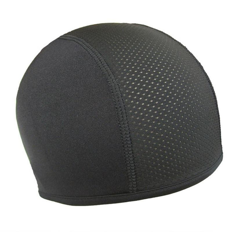 Motorcycle Helmet Skull Inner Cap Coolmax Hat Quick Dry Breathable Hat Racing Cap Under Helmet Beanie Cap Motocross Helmet TSLM2
