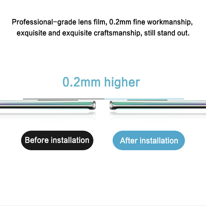 Camera Len film screen protector Protective Note 10 For Samsung Galaxy Note 10 5G protector clean mobile phone Cover glass in Phone Screen Protectors from Cellphones Telecommunications