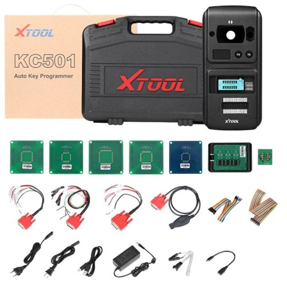 XTOOL KC501 مفتاح السيارة ورقاقة مبرمج يمكن قراءة وكتابة مفاتيح قراءة تردد عن بعد وتوليد مفتاح تاجر