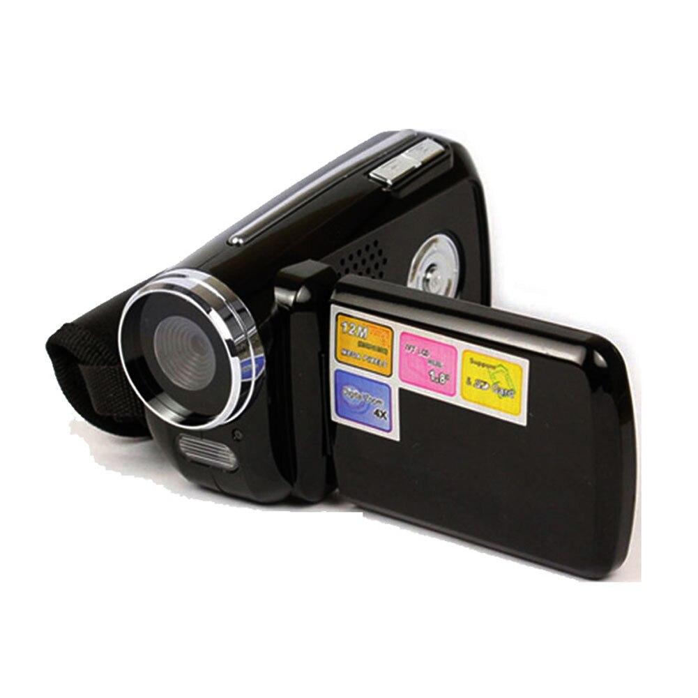 Цифровая мини-видеокамера DV, 1,8 дюйма, 4 цифровых зума, 12 мегапикселей, TFT ЖК-дисплей, видеокамера с ручкой