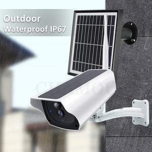 Image 5 - 1080P Solar IP Camera 2MP Wireless Wi fi Battery Security Surveillance Waterproof Outdoor Camera Two Way Audio Video Recorder