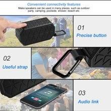 Открытый прочный Портативный Hifi беспроводной Bluetooth V4.2 динамик с усиленным басом Водонепроницаемый IPX6 с 5 Вт Двойной драйвер
