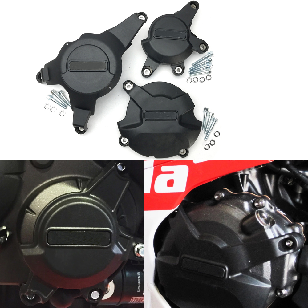 For HONDA Cbr 1000 Rr 2008-2016 CBR1000RR Engine Cover 2016 Motorcycle Protective Case Cover For GB Racing Case