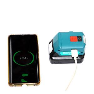 Image 2 - li ion battery charger USB adpator with work light Multifunction DC10WD for Makita BL1015 BL1040B BL1015 BL1016 BL1021B BL1040B