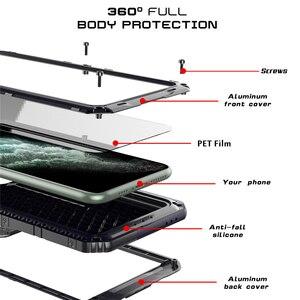 Image 2 - Funda de teléfono resistente al agua IP68 de aluminio y Metal de lujo, a prueba de golpes, para iPhone SE 2 11 Pro Max XR 6X6S 7 8 Plus XS Max