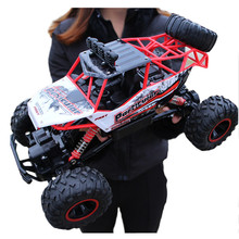 RC Car 4 WD Dirt Bike 2.4G Radio Remote Control Cars Boys Toys Buggy Off Road Trucks for Children Model Vehicle Toy 37 CM 1:12