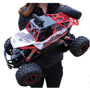Image 1 - Voiture télécommandée 4 WD télécommande 2.4G, voitures télécommandées, jouets pour garçons, Buggy, camions tout terrain pour enfants, véhicule modèle, 37 CM 1:12