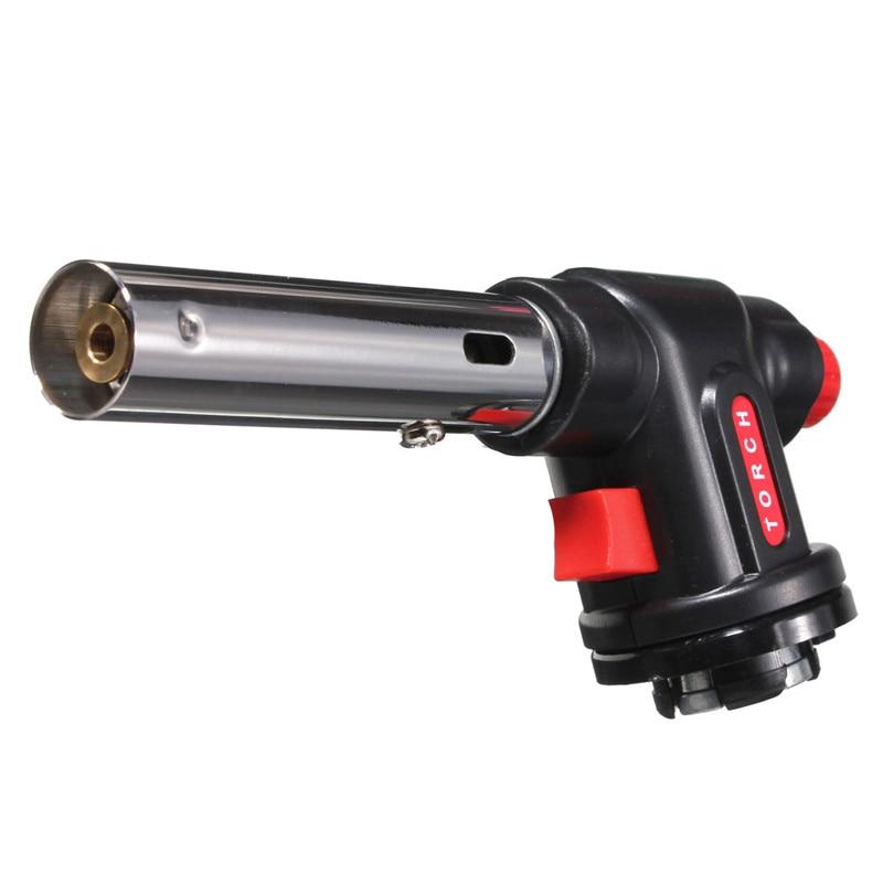 1 шт. сварочная зажигалка с пайкой бутан газовая горелка для барбекю инструмент кемпинг многофункциональный пистолет сварка резка сушка